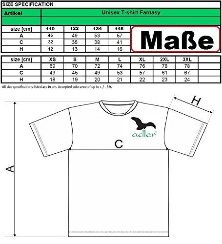 T-Shirt Sportshirt Fantasy für Herren Gelb