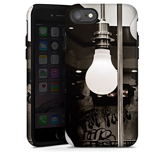 Apple iPhone X Silikon Hülle Case Schutzhülle Hängelampen Lampen Licht Tough Case glänzend