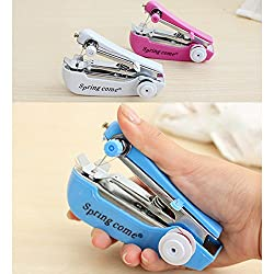 Akruti Hand-held Pocket Sewing Machine Household Home Hot Manual Mini Clothes Pocket-Sized Useful High Quality