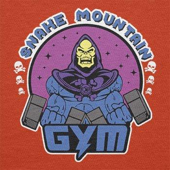 TEXLAB - Snake Mountain Gym - Herren T-Shirt Orange