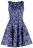 Closet Damen Kleid blau navy Einheitsgröße Gr. 10, navy