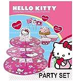 Hello Kitty Muffin Fun Deco Etagere + 30 Fähnchen + 30 Muffinförmchen