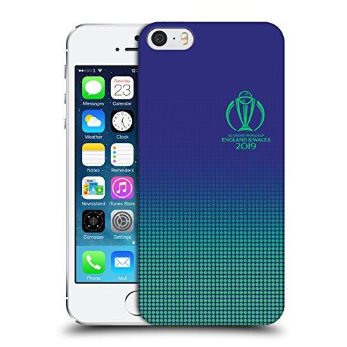 5s 64 Cricket Iphone (Offizielle International Cricket Council Firmenzeichen Typographie Ruckseite Hülle für iPhone 5 iPhone 5s iPhone SE)