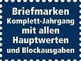 Goldhahn DDR Jahrgang 1971 gestempelt komplett Briefmarken für Sammler