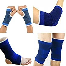H-Store Set of Ankle, Palm, Knee, Elbow Support, Gym Support