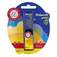 Pelikan Griffix Pencil HB Refills/ 2X3 In Blisterform