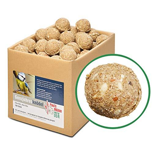 Paul´s Mühle Ganzjahresknödel mit Insekten und Trockenfrüchten, ohne Netz ohne Folie, 100 Stück