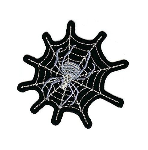 Spider Cobweb Cartoon bestickt Nähen Eisen auf Patch Cartoon Nähen Eisen auf bestickte Applikation Craft handgefertigt Baby Kid Girl Frauen Tücher DIY Kostüm (Spider Kids Kostüme)