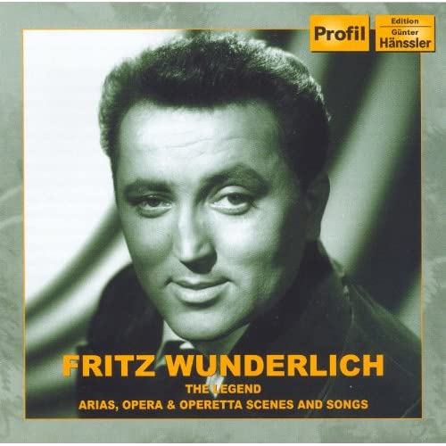 Wunderlich, Fritz: Legend (The) - Arias, Opera and Operetta Scenes and Songs