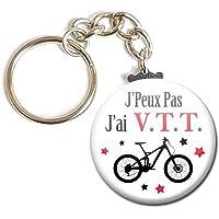 Porte Clés Chaînette 3,8 centimètres j' peux pas j' ai Vtt Vélo Idée Cadeau Accessoire Humour Loisir Hobby Passion…