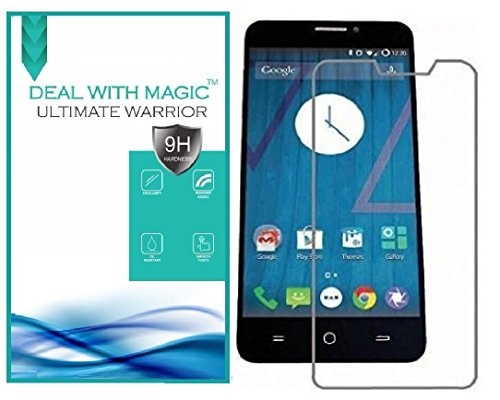 Magic Transparent Tempered Glass 2.5 Curve Screen Protector for Micromax Canvas YU Eureka Plus