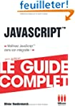GUIDE COMPLET�JAVASCRIPT