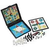 Juego  JU01000 -  Travel Game 7 in 1, juego de viaje y de bolsillo infantil, magnético