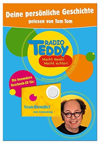 Die ganz persönliche Hörspiel-CD - von Radio Teddy präsentiert, erzählt von Tom Tom und mit dem Kindernamen Ihrer Wahl als Hauptrolle personalisiert. Ihr Wunschname wird mehrere Male im Hörspiel genannt und auf die CD gedruckt. - Tomtom Radio