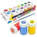 Tritart Acryl-Farben-Set für Kinder und Erwachsene | 14er Acryl Farbset -