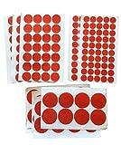 Doppelseitige Klebe-Flächen - Klebeband Kreise - EXTRA STARK Sticky Tape - 1mm Acryl Klebeschicht – Wiederlösbar TRANSPARENT für Bau Werkstatt Haushalt – 100x 20mm 96x 30mm 40x 50mm (100x 20mm Durchmesser)