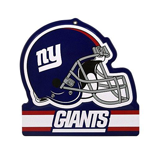 Party Animal NFL NEW YORK GIANTS Metall Helm Schild
