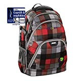 Coocazoo Schulrucksack EvverClevver Red District red district