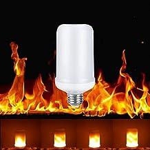 Lixada Lampadina LED Lampada LED Fiamma Effetto Sfarfallio Luce Lampada SMD2835 Decorativo per Festa