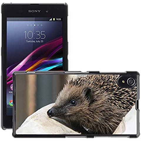 GoGoMobile Hot Style-Custodia rigida per cellulare, a forma di riccio, di M00125186 Spur punta E/Sony Xperia Z1 C6902, C6903, C6906, C6943 L39