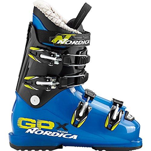 Nordica Kinder 05077400-2A1 Skischuh GPX Team Transp. Lt Blue/Black - MP 26,5 -