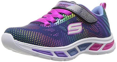 Skechers Kinder Low Litebeams - Gleam N' Dream,Navy/mu 10959L NVMT blau 520187