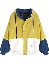 Amazon Ropa Mujer Amarillo es Ropa de abrigo Cx8rCHTqw
