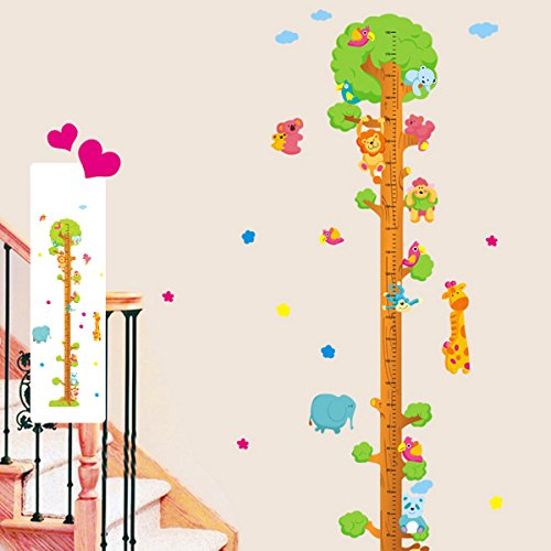 possbay-700x500mm-animals-tree-removable-vinyl-wall-decal-decor-stickers-kids-height-chart-measure