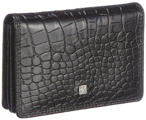 Bodenschatz Damen Portemonnaies, Schwarz/black, Unisize -