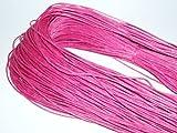 Wachsband, pink, 5 Meter, D67