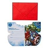 8 Avengers Party Invites & Envelopes