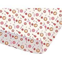 Disney 044700Elena de avalor Baila sábana bajera para niños algodón rosa 190x 90cm