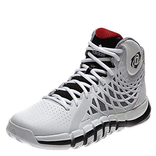 buy popular 51d3e ad6c9 adidas Performance DERRICK ROSE 773 II Zapatillas Baloncesto Blanco Negro para  Hombre SprintWeb