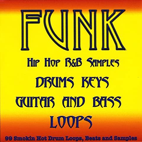 Funk Pop Drum Loops, Guitar, Bass and Keyboard Samples