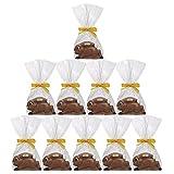 10er SET Rennhase 30 g Edelvollmilch-Schokolade Osterhase Ostern