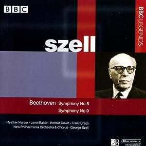 Szell Dirigiert Beethoven 8+9
