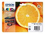 Epson original - Epson Expression Premium XP-640 Series (33 / C13T33374010) - Tintenpatrone MultiPack black photoblack cyan magenta yellow