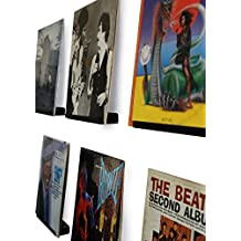 LP vinyl record Wall display | nero satinato | display your Listening in stile Black Satin