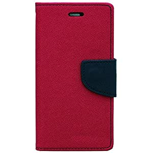 D'Clair Premium combo of Merucry Flip cover and 32GB Pendrive for Sony Xpeira C3