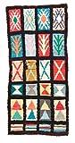 Trendcarpet Tappeto Berberi dal Marocco Boucherouite 245 x 115 cm