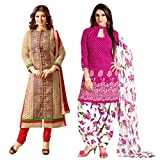 MADA Beige - Pink Chanderi cotton Dress ...