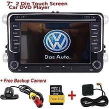 Doble 2 Din pantalla t¨¢ctil capacitiva est¨¦reo DVD del coche