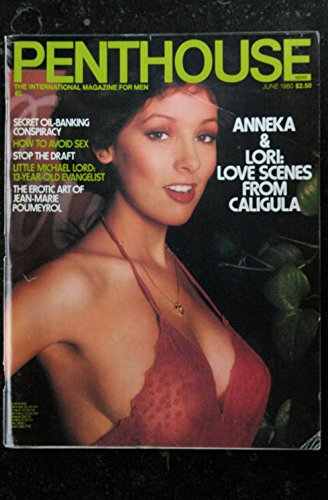 PENTHOUSE US 1980/01 Danielle Deneux Little Michael Lord Love Scenes from Caligula Bob Guccione Sharon Sorrentino