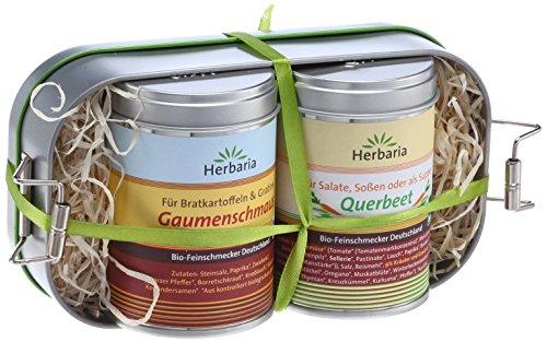 Herbaria Lunchbox mit Gaumenschmaus und Querbeet, 1er Pack