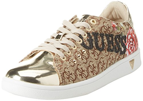 Guess Footwear Active Lady, Baskets Femme, Beige