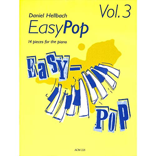 Acanthus Music Easy Pop - Vol. 3 - 14 Klavierstücke Pop-tabelle