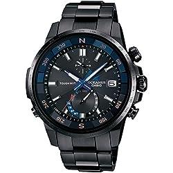 CASIO watch OCEANUS CACHALOT compass mounted Solar radio OCW-P1000B-1AJF Men