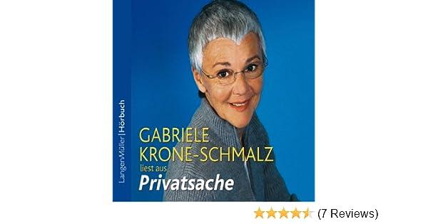 Privatsache Horbuch Download Amazon De Gabriele Krone Schmalz