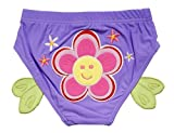 Schöne Sun-Blumen-Baby-Kind-Schwimmen Lila Windeln / Swim Brief, L Größe