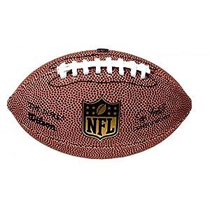 Wilson American Football NFL DUKE REPLICA, Einsatz in Freizeit, Strapazierfähiges Komposit-Leder, WTF1825XB